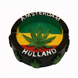 Ashtray Amsterdam Rasta