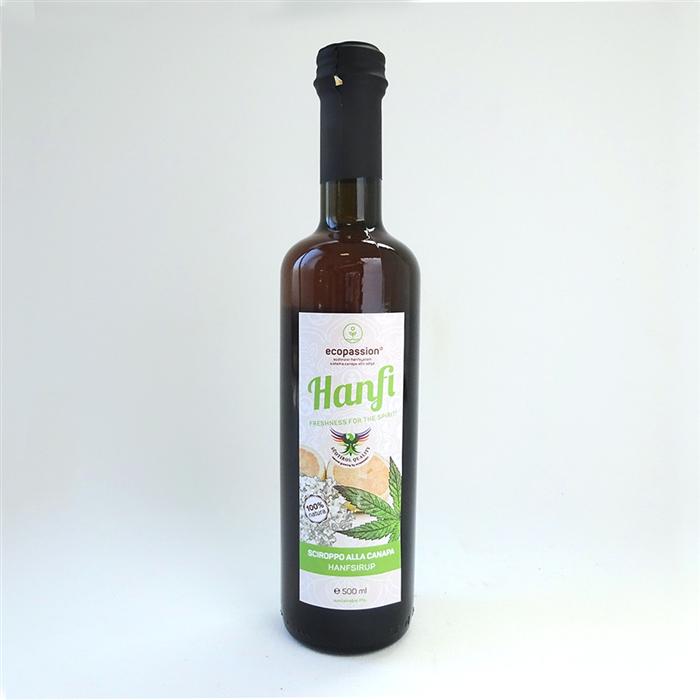 Hemp syrup
