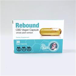 Rebound CBD Vegan Capsule