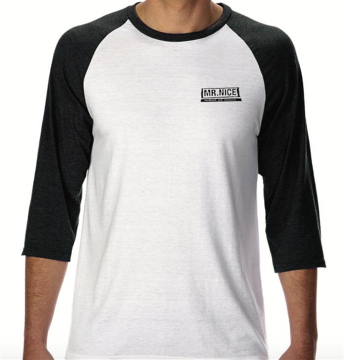 Mr. Nice baseball t-shirt