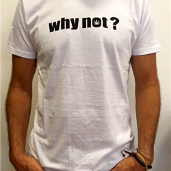 Men's why not? t-shirt