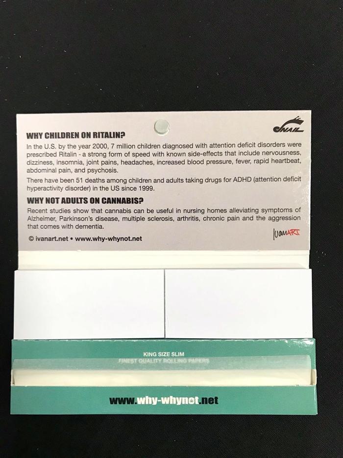 Cartine KS con filtri why not? Ritalin