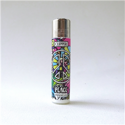 Mini Lighter Clipper Peace