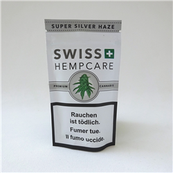 Super Silver Haze hemp flowers