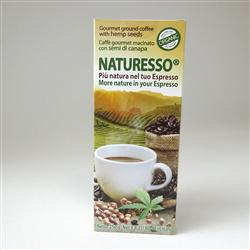 Naturesso, caffè biologico con semi di canapa - 250 gr