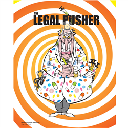 Poster why not? 059 Legal Pusher
