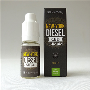 E-liquid New York Diesel CBD 100 mg
