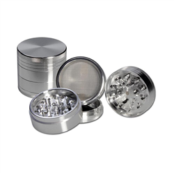 Grinder anodised aluminium