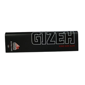 Cartine Gizeh Black King Size Slim