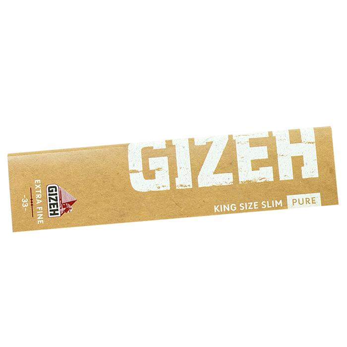 Cartine Gizeh Pure King Size Slim Eco Friendly