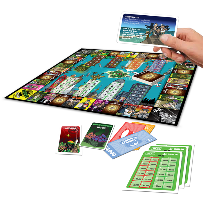 Dealer's Cup The Boardgame