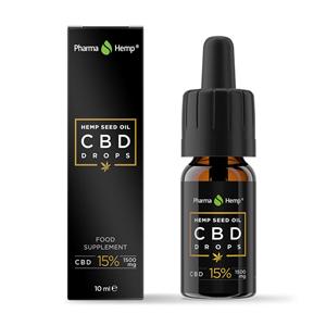 CBD Drops 15% (hemp oil)