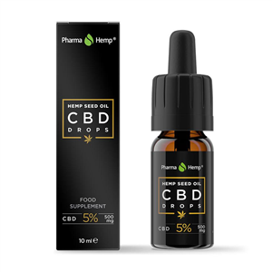 CBD Drops 5% (hemp oil)