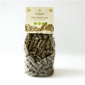 Organic Hemp Maccheroncini pasta