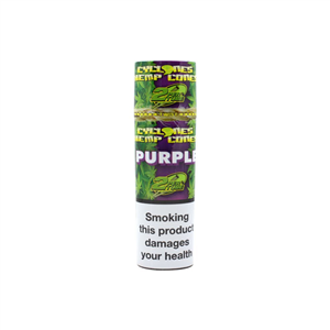 Hemp Cones Purple