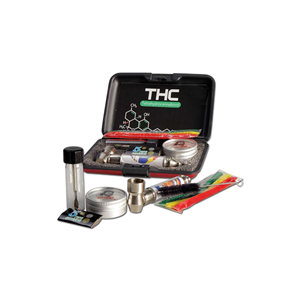 Metal Pure Pipe Set 'THC' in a Case