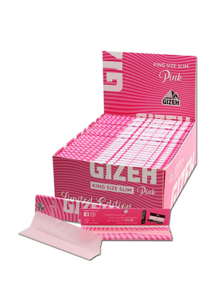 Cartine Gizeh Pink King Size Slim