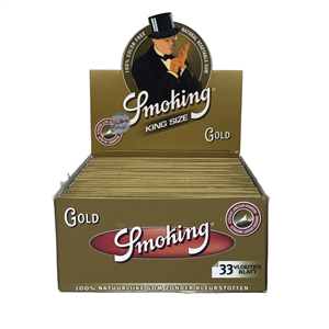 Cartine Smoking Gold King size