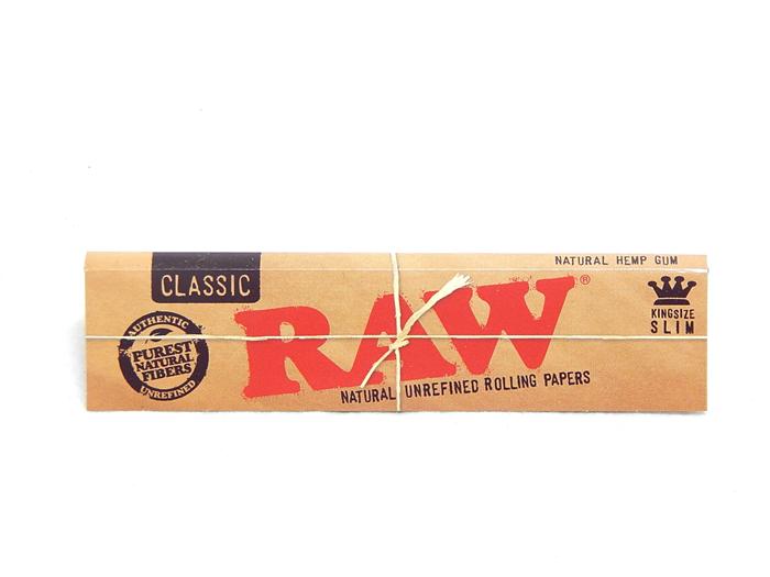 Cartine RAW Classic King Size Slim