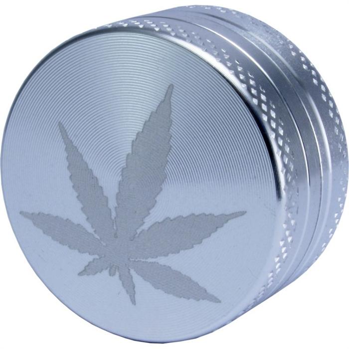 Mini aluminum grinder