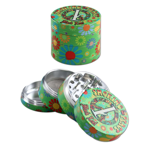 'Smoking for Peace' Aluminium Grinder