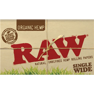 RAW Organic Single Wide Double Paper