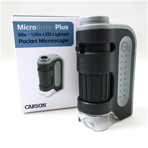 Carson MicroBrite Plus MM-300 Pocket Microscope