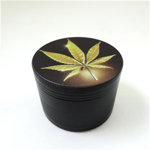 Grinder-Pollinator in alluminio 4 parti Gold Leaf