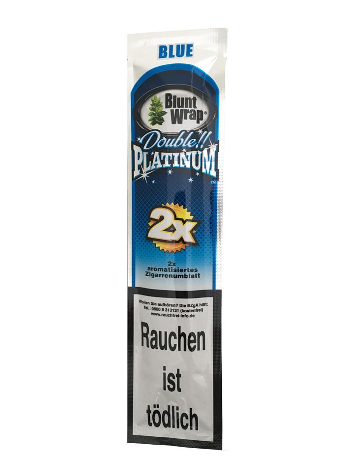 Blunt Wrap Platinum double BLUE